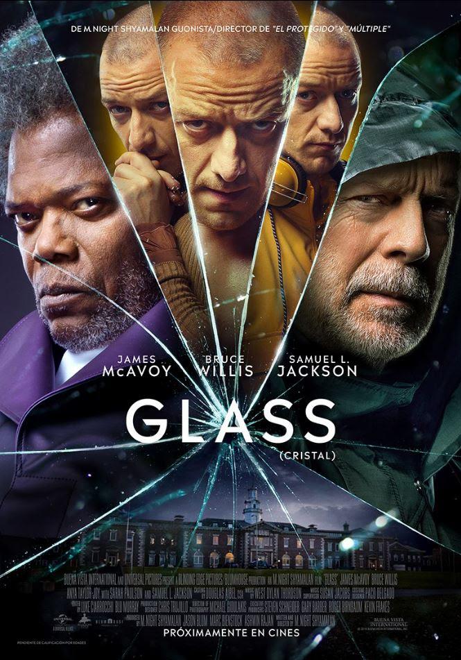 Póster de 'Glass'.