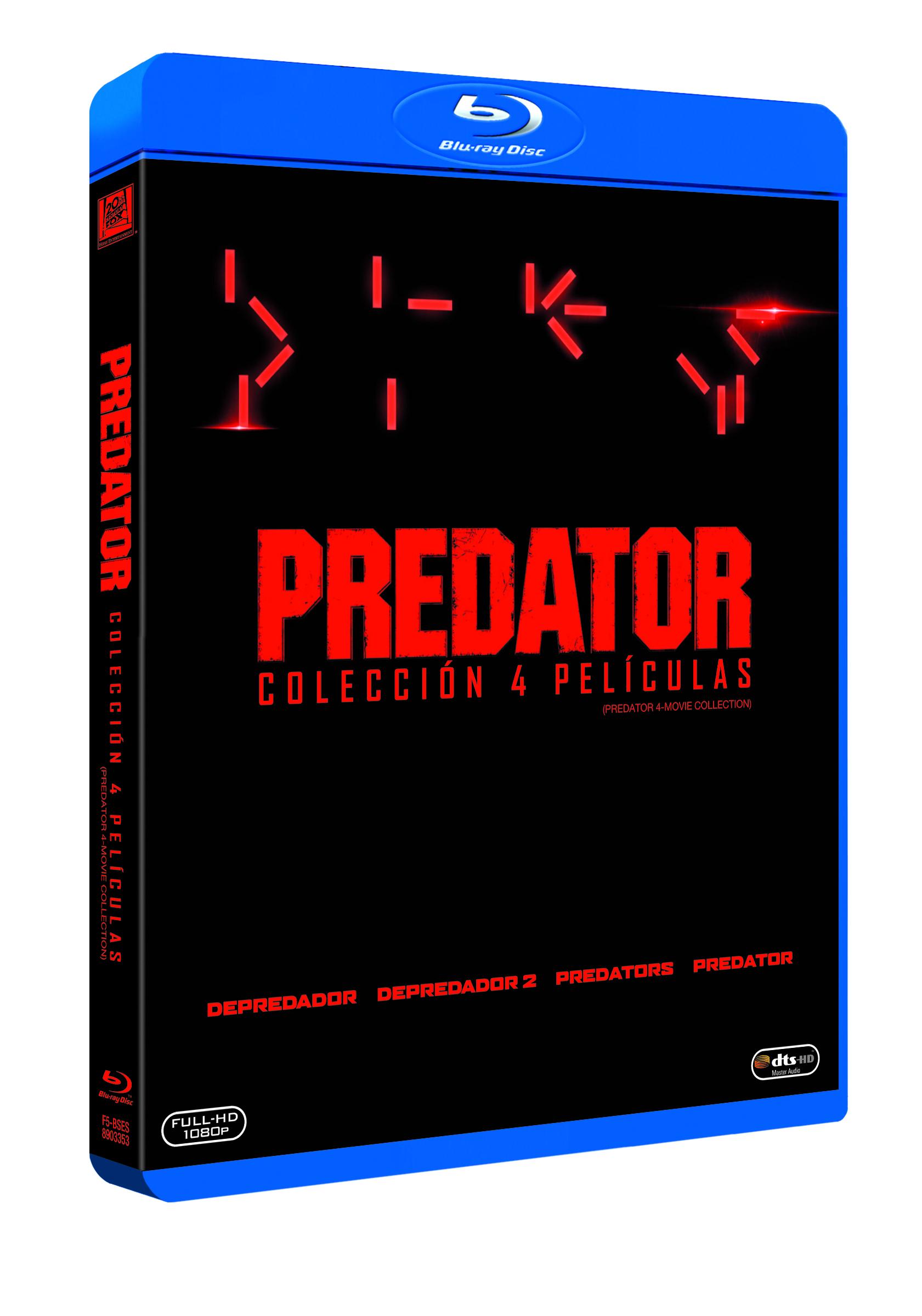 Edición coleccionista de la saga 'Predator'.