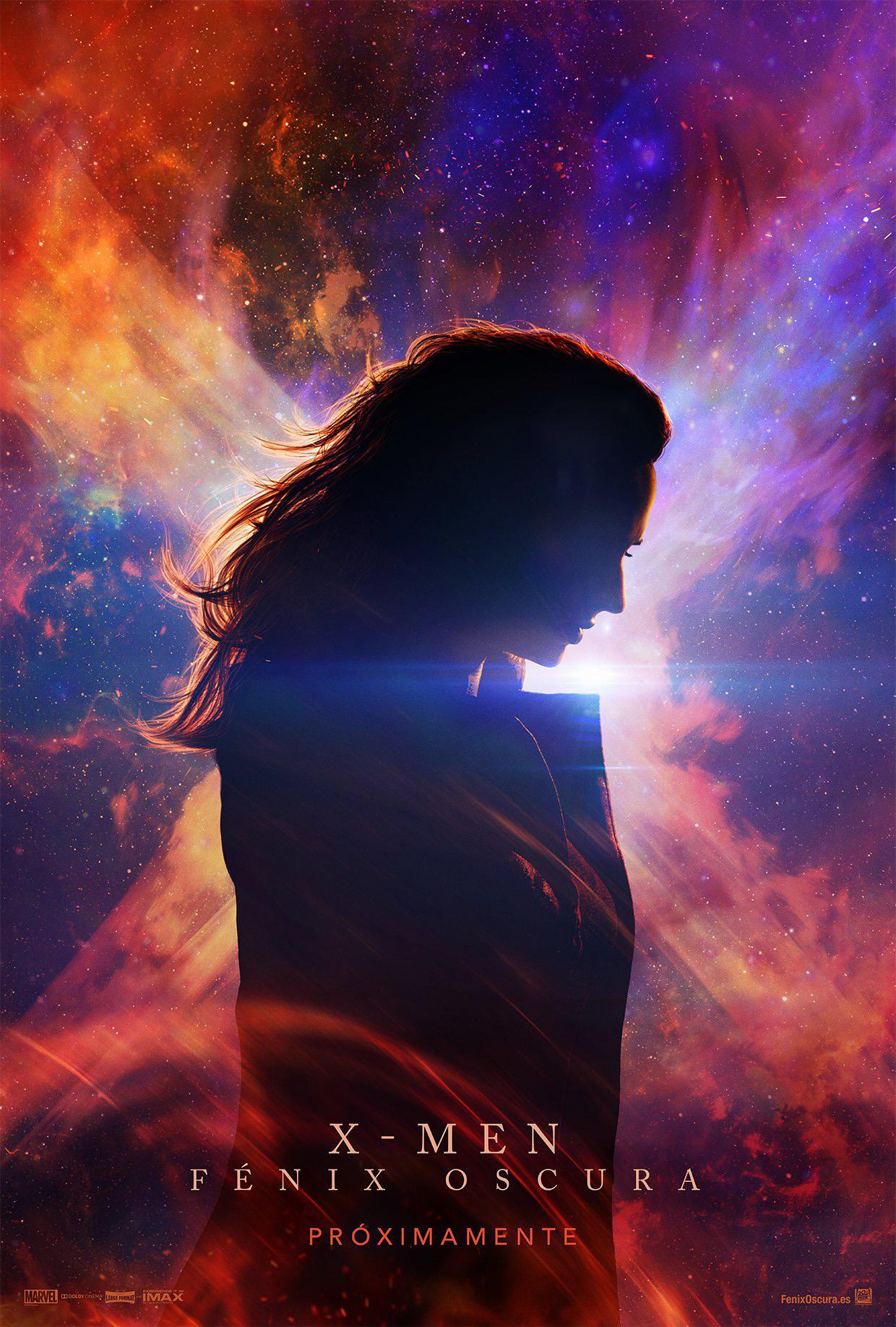 Cartel 'X-Men: Fénix oscura'