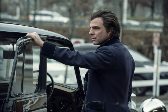 Zachary Quinto es Charlie Manx en 'NOS4A2'. Photo Credit: Zach Dilgard/ AMC