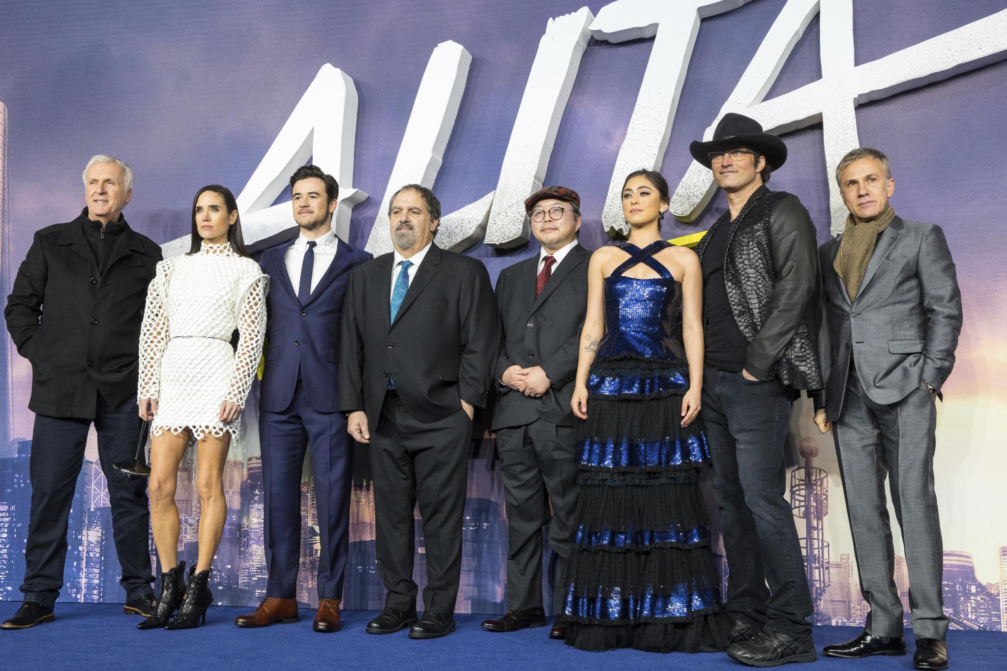 Première mundial de 'Alita: Ángel de combate'.