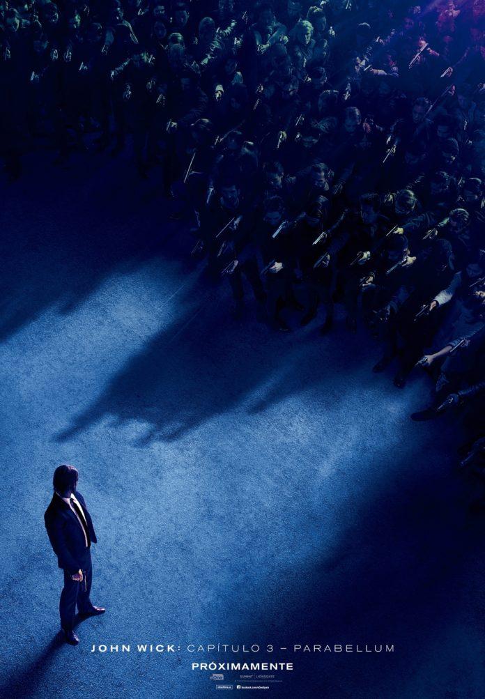 Cartel teaser 'John Wick: Capítulo 3'. Eone Films Spain