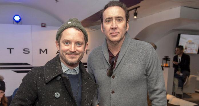 Elijah Wood y Nicolas Cage (productor y protagonista del nuevo título de SpectreVision) son viejos conocidos e incluso llegaron a actuar juntos en 2016 en la cinta 'Policías corruptos'.