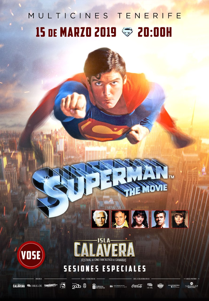 Evento prefestival Isla Calavera. Proyección de 'Superman', de Richard Donner.