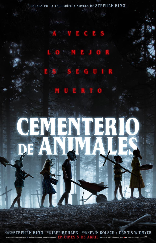 Póster de 'Cementerio de animales'.