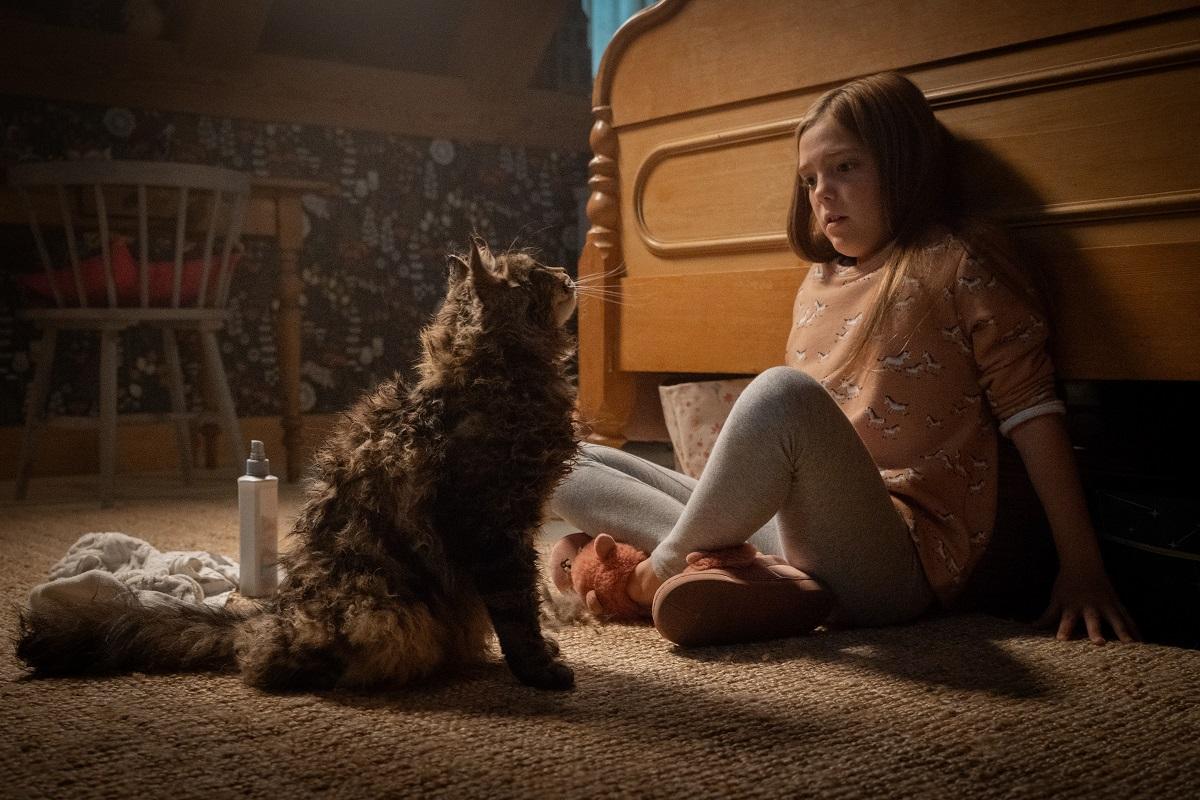 Jeté Laurence es Ellie en 'Cementerio de animales', de Paramount Pictures.