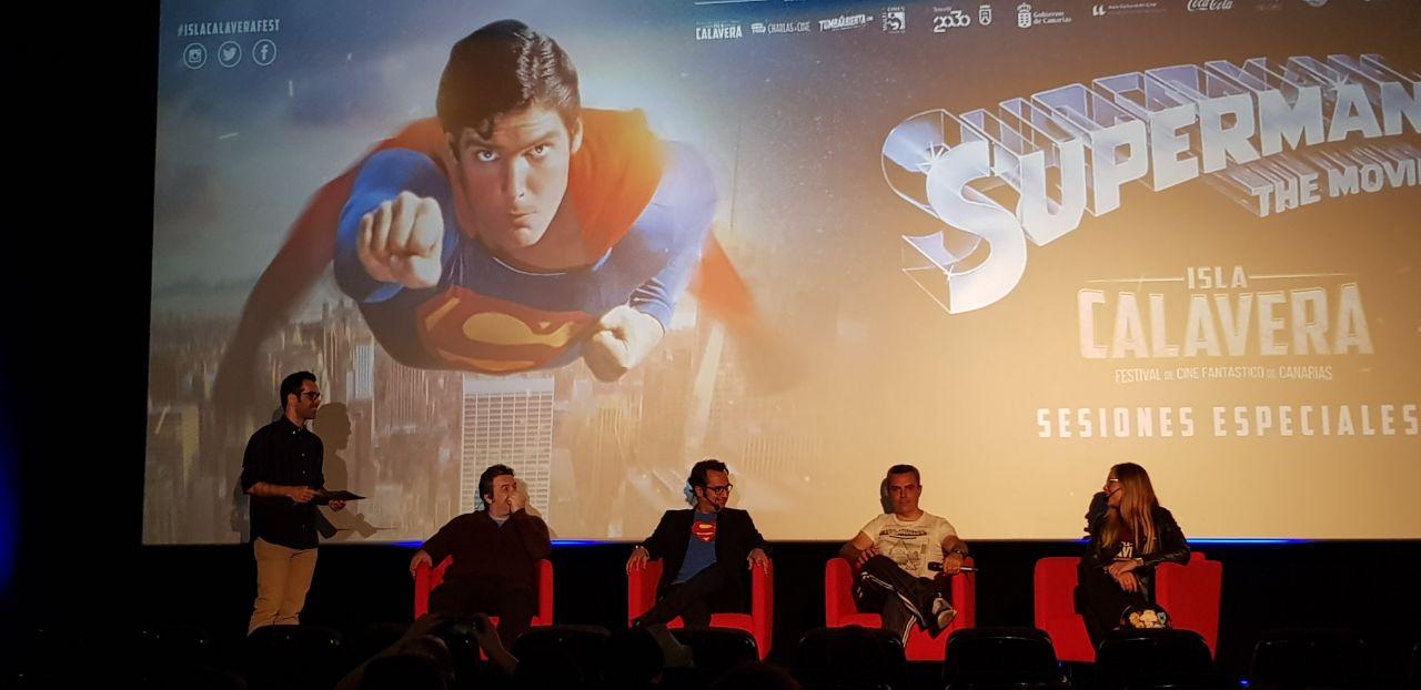 Evento prefestival Isla Calavera dedicado a 'Superman'.