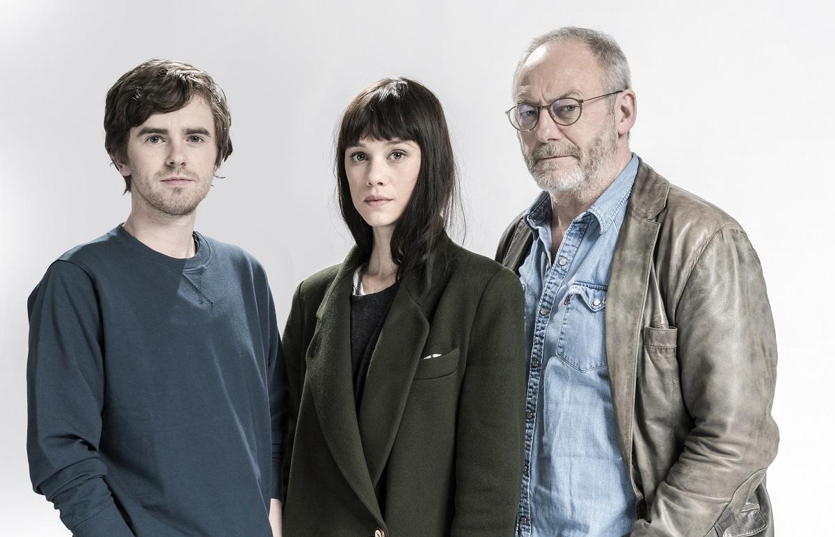 Freddie Highmore, Astrid Bergès-Frisbey y Liam Cunningham forman parte del elenco protagonista de 'Way Down'. Foto: Diego López Calvin