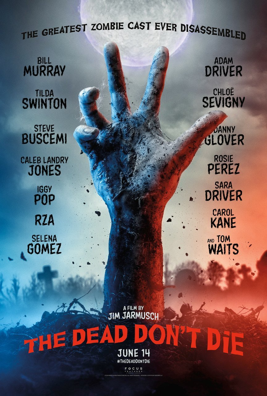 Póster 'The Dead don't die'