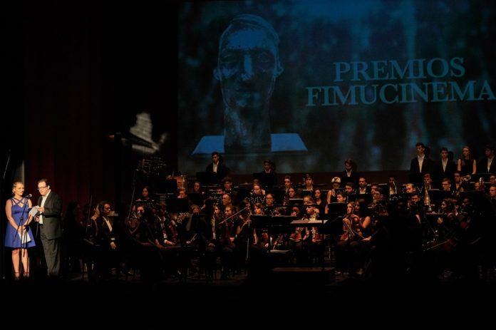Entrega de premios Fimucinema 2018 en el marco del concierto
