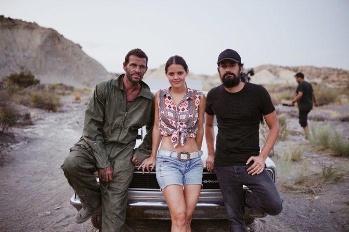 Fernando Cermeño, Isabelle Junot y David M. Santana, protagonistas de 'Fuel'.