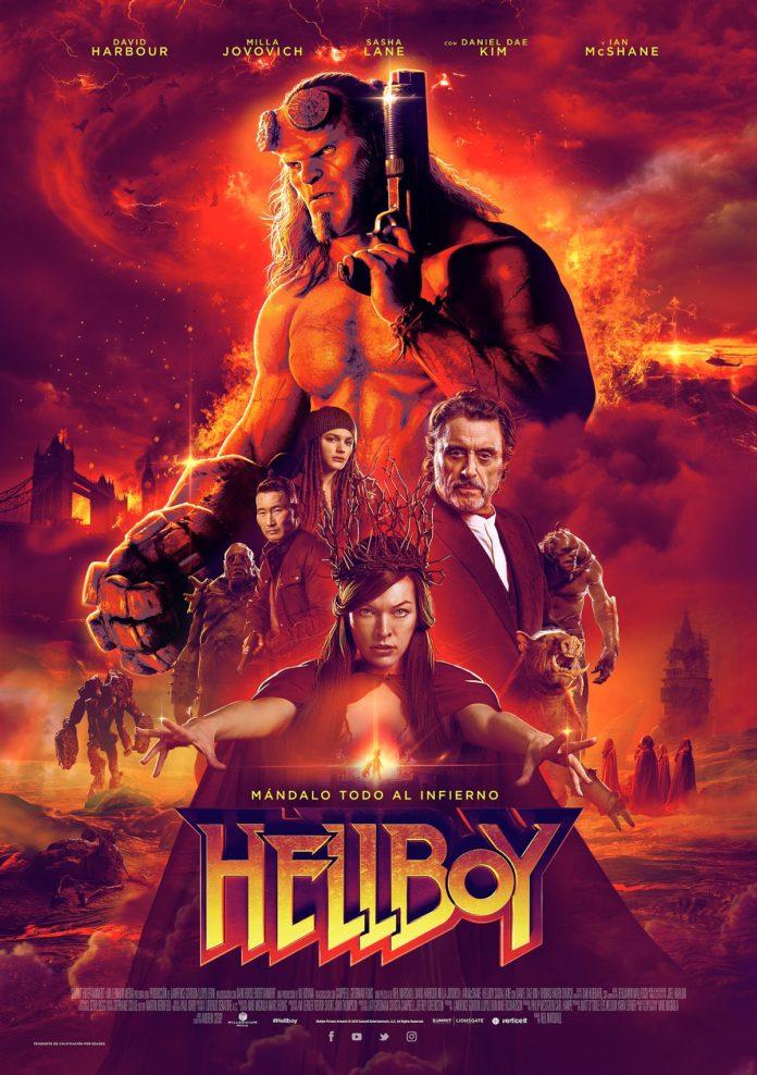 Póster 'Hellboy', de Neil Marshall.