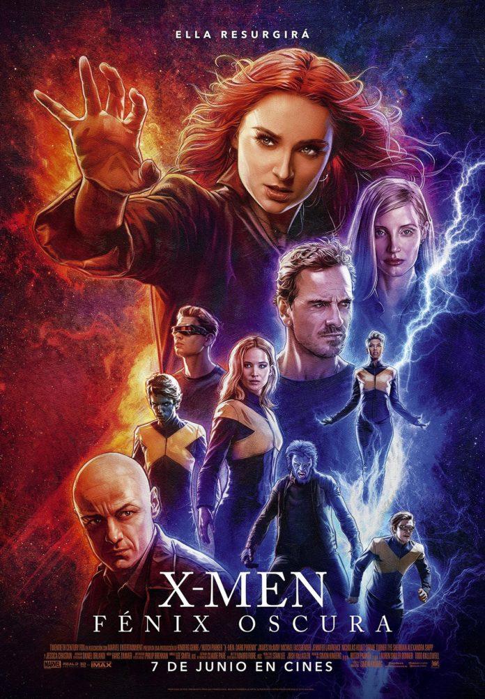 Póster de 'X-Men: Fénix oscura'.