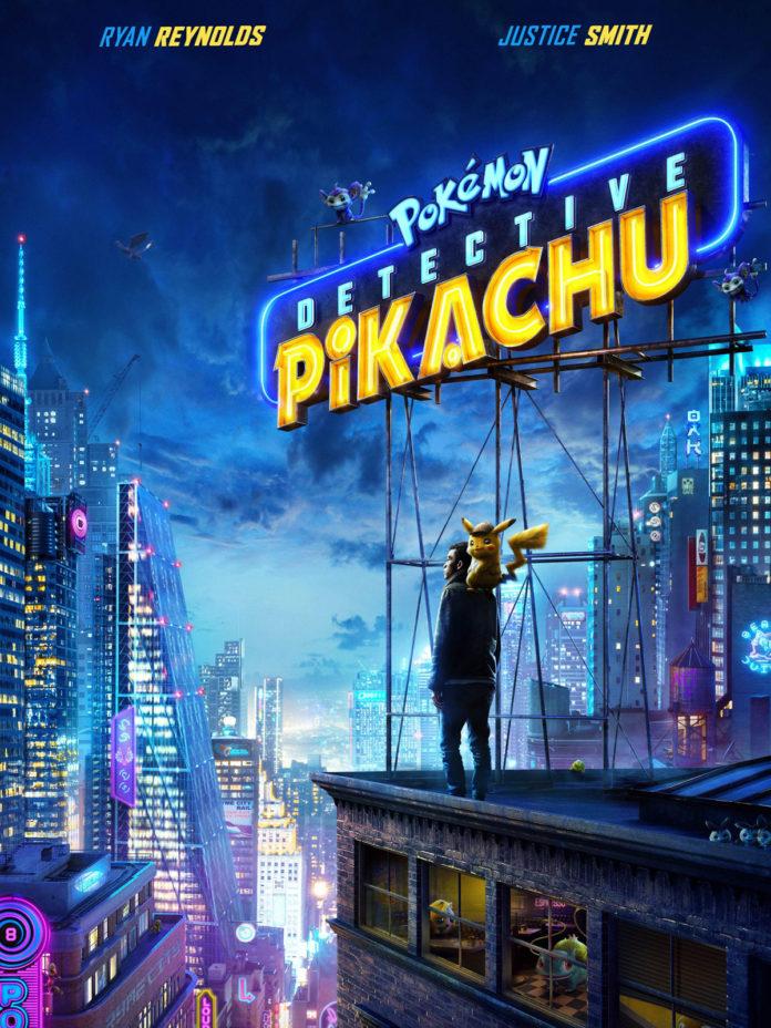 Póster de 'Pokémon. Detective Pikachu'.