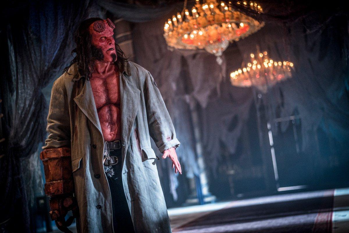 David Harbour protagoniza 'Hellboy', de Neil Marshall.