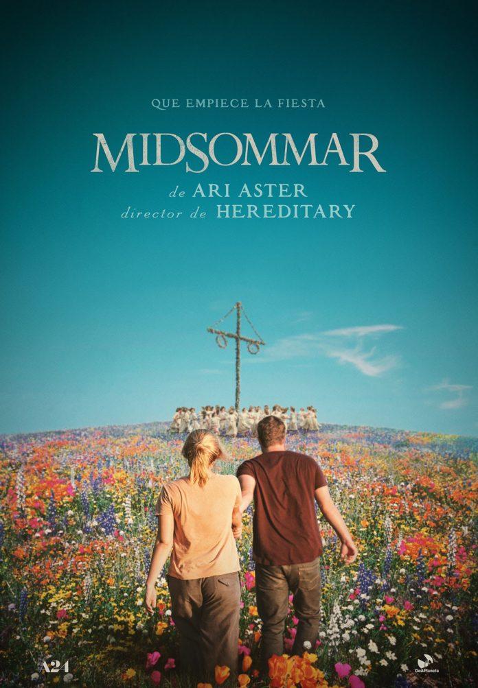 Teaser póster de 'Midsommar', de Ari Aster.
