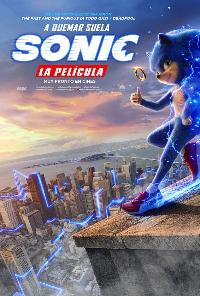 Póster 'Sonic. La Película'