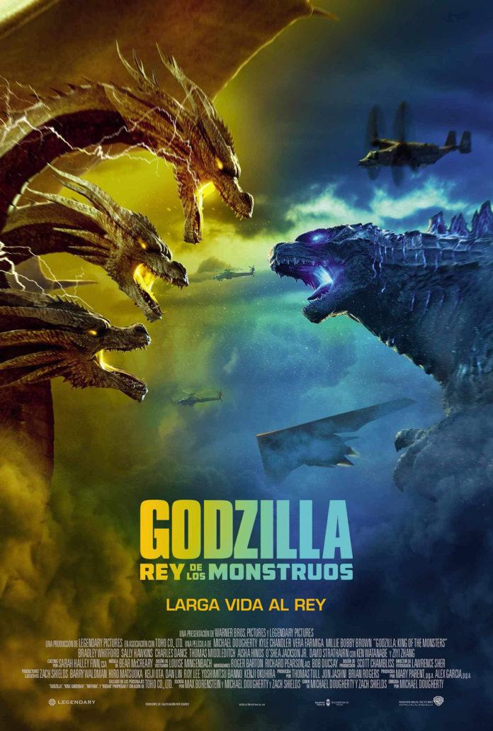 Póster 'Godzilla. Rey de los monstruos'