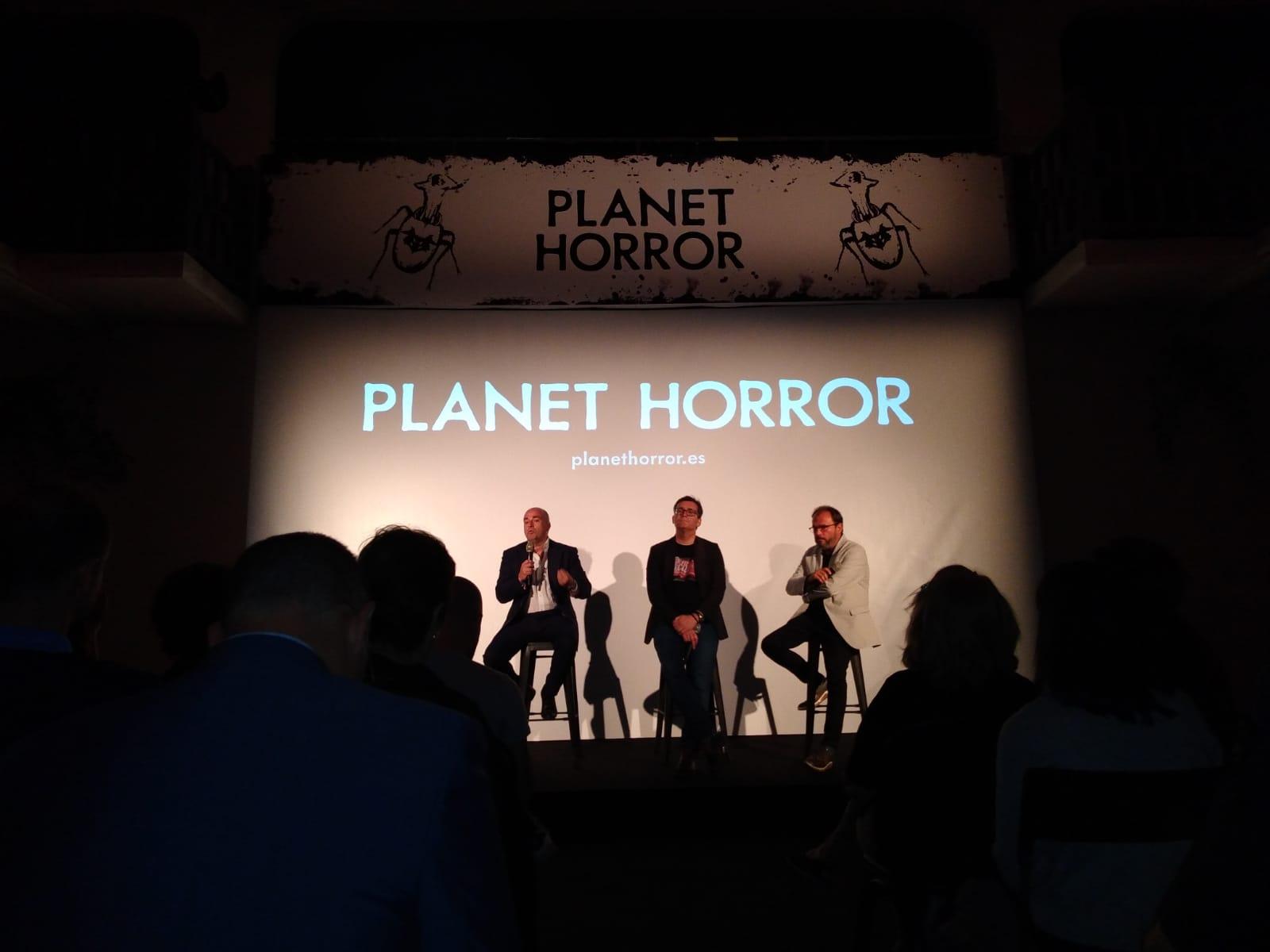 Acto de presentación de la nueva plataforma especializada en cine de género Planet Horror.