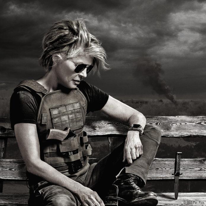 Linda Hamilton es Sarah Connor en Terminator: Destino oscuro.