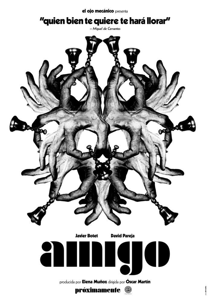 Teaser póster de 'Amigo', de Óscar Martín.