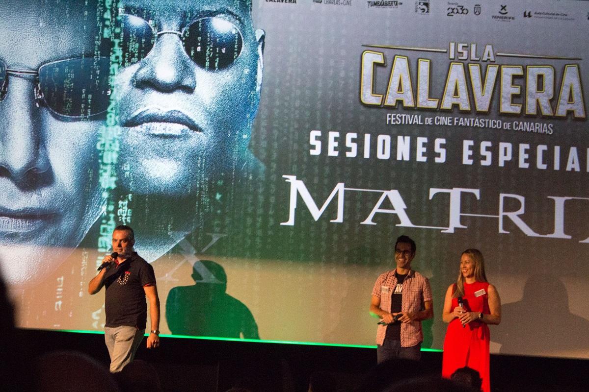 Presentación evento prefestival Isla Calavera 'Matrix'.