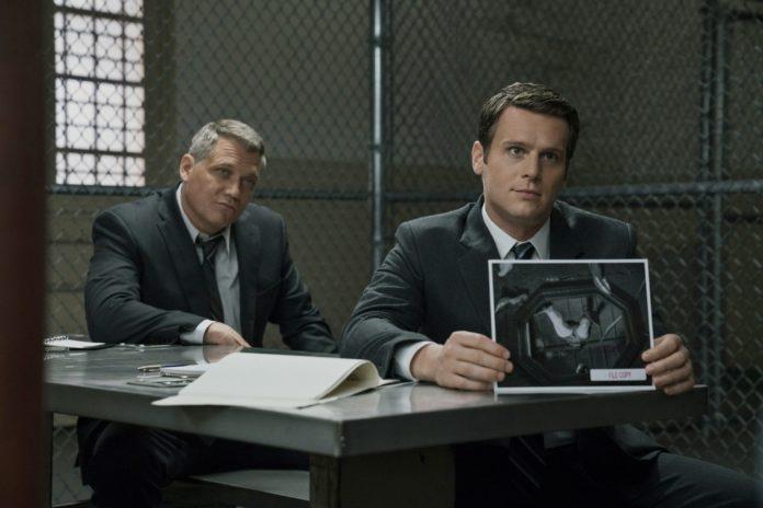 Holt McCallany y Jonathan Groff interpretan en la serie 'Mindhunter' a la pareja de agentes especiales del FBI protagonista. Netflix