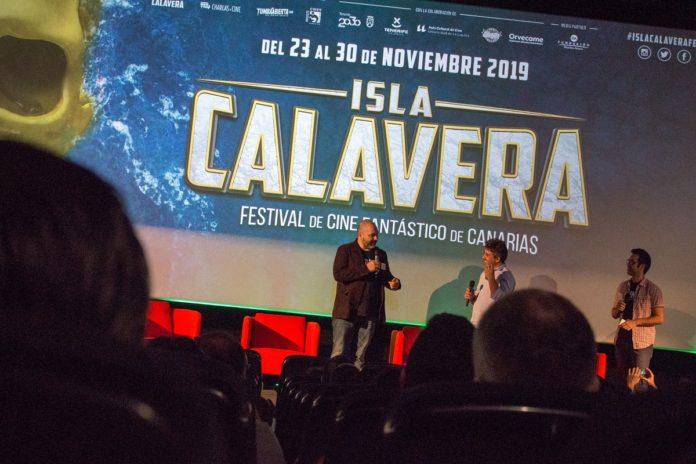 Presentación teaser póster del Festival de Cine Fantástico de Canarias Isla Calavera 2019.