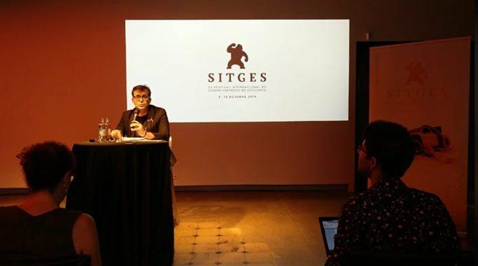 Ángel Sala, director del Festival de Sitges, ofrece en rueda de prensa un primer avance de programación de la 52ª edición.