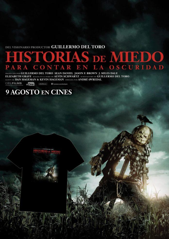 Promoción 'Historias de miedo para contar en la oscuridad'.