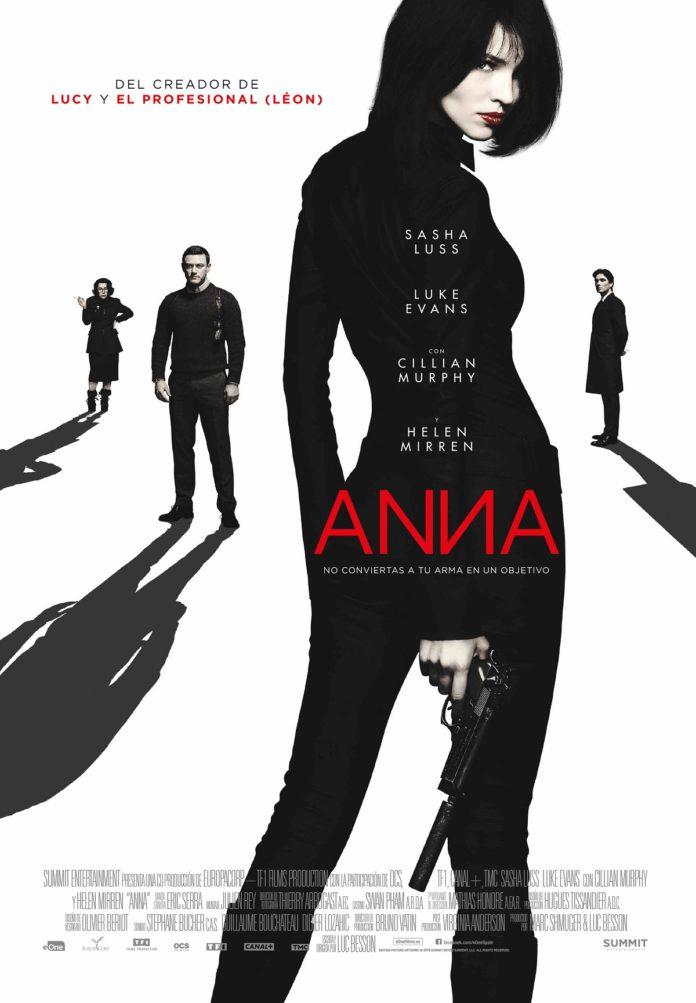 Póster 'Anna', de Luc Besson.