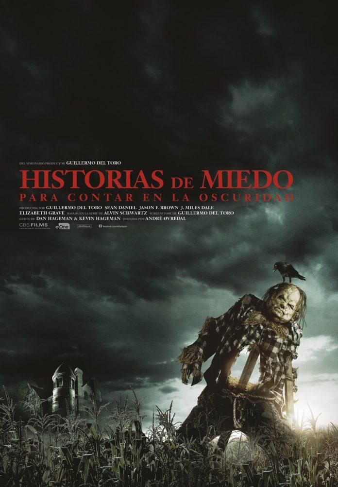 Cartel 'Historias de miedo para contar en la oscuridad'.