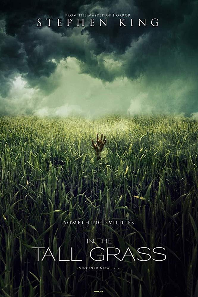 Póster de 'In the tall grass'.