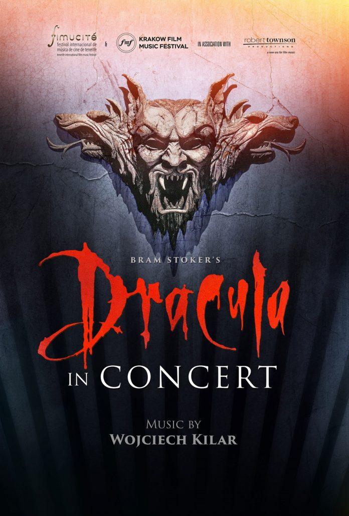 Póster de 'Bram Stoker's Dracula in Concert', obra de Daniel Fumero.