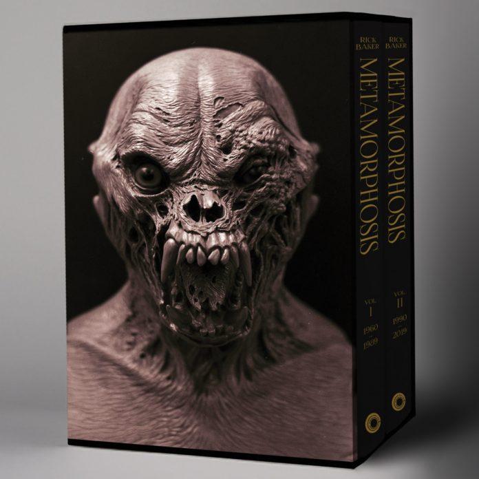 'Rick Baker: Metamorphosis', una auténtica pieza de coleccionismo.