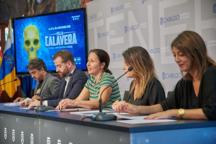 De izquierda a derecha, Ramón González Trujillo, Juan Márquez, Concepción Rivero, Matilde Zambudio y Yaiza López.