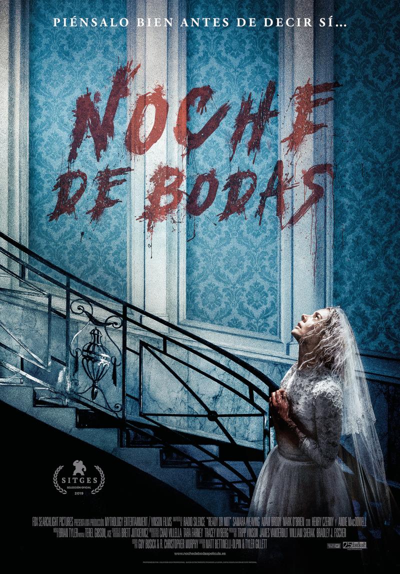 Cartel de 'Noche de bodas', estreno en cines este 11 de octubre.