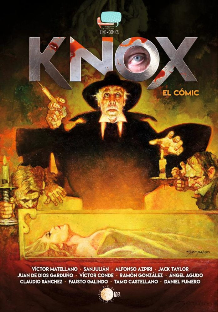 Portada cómic book 'Knox'. Ediciones Idea.