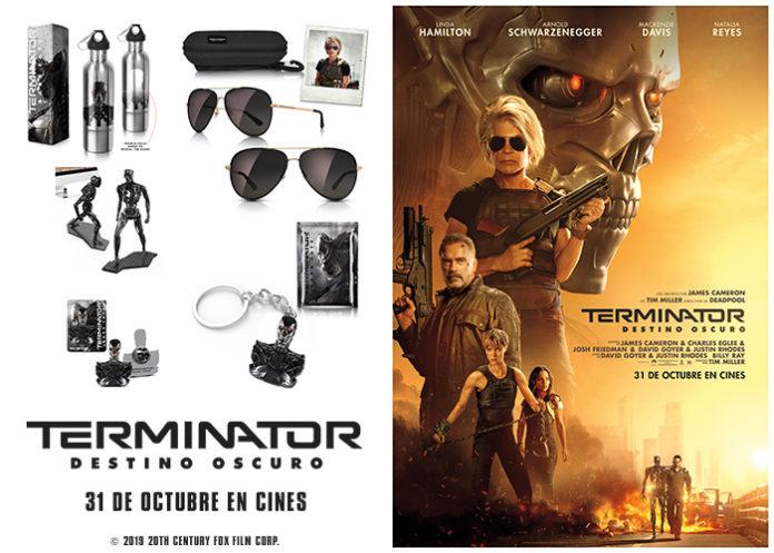 Promoción 'Terminator: Destino oscuro'