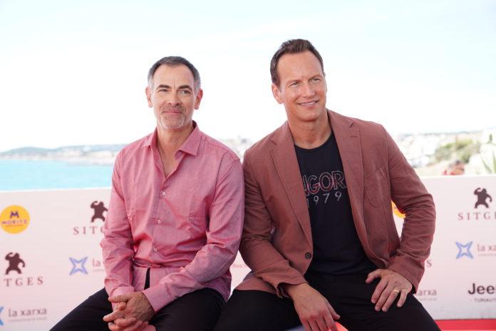 Vincenzo Natali y Patrick Wilson, director y protagonista de 'En la hierba alta'.