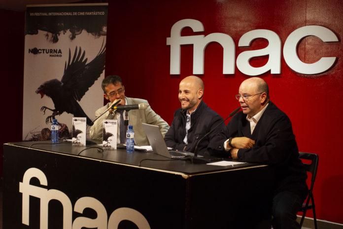 Rueda de prensa de Nocturna Madriden el Fórum Fnac Callao.