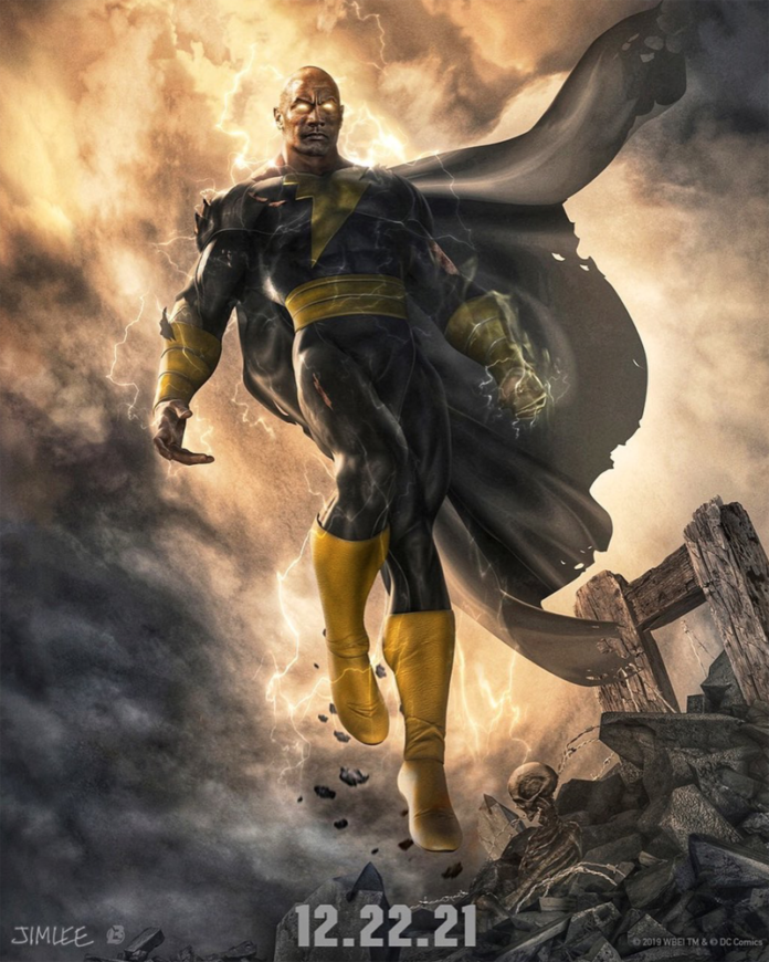 Dwayne Johnson interpretará al poderoso Black Adam para el cine.