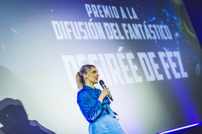 Desirée de Fez, Premio Isla Calavera a la Difusión del Fantástico.