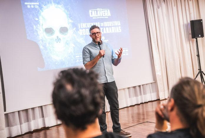 El productor Daniel Noah, SpectreVision, uno de los destacados ponentes del I Encuentro de Industria Isla Calavera: Rodar en Canarias.