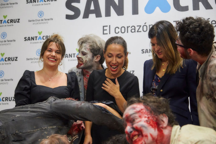 Rueda de prensa Tenerife Zombie Walk 2019.