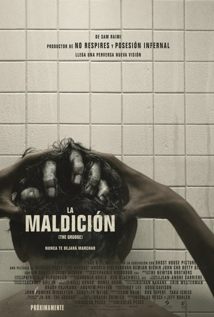 Cartel 'La maldición (The Grudge)', de Nicolas Pesce.