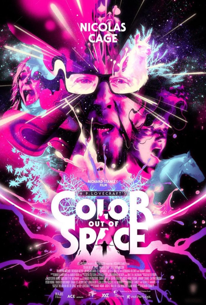 Póster 'Color out of space'.