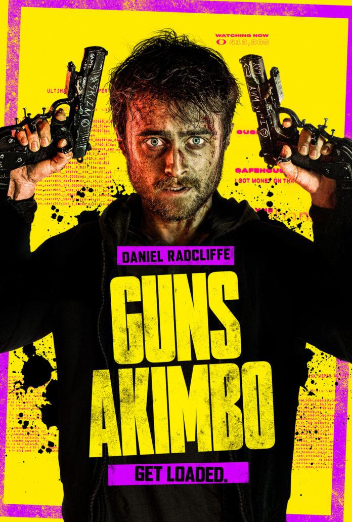 Póster de 'Guns Akimbo'.