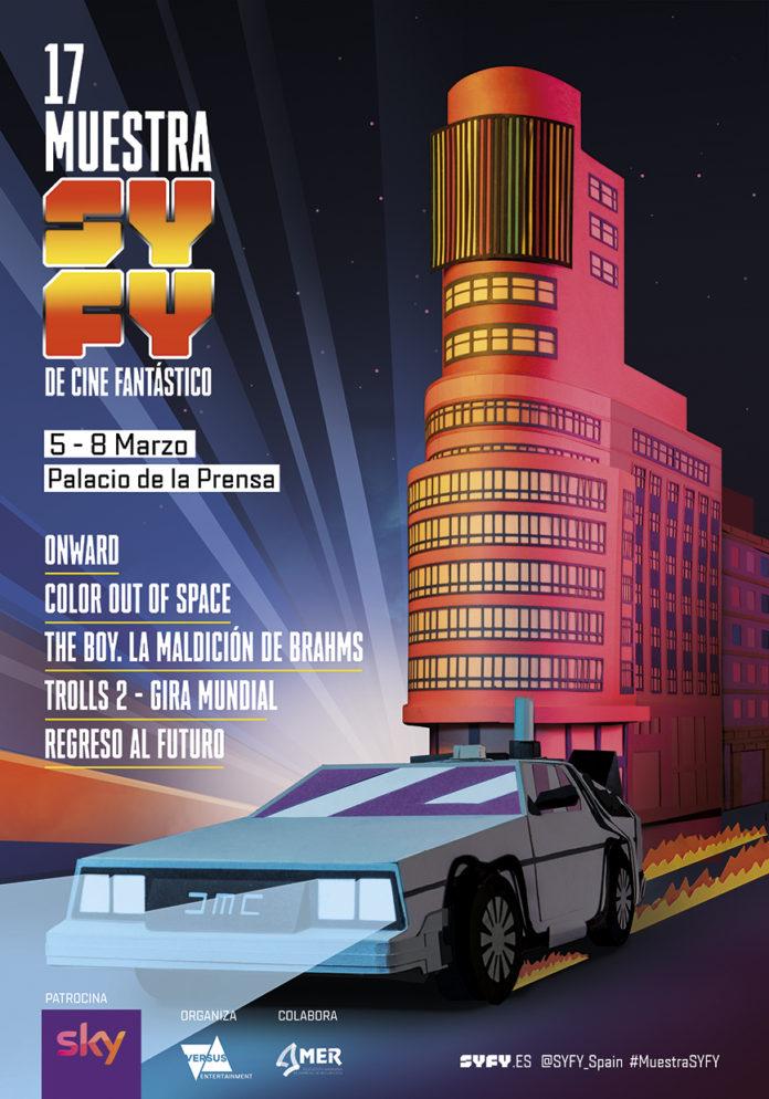 Póster 17 Muestra SYFY de Cine Fantástico.