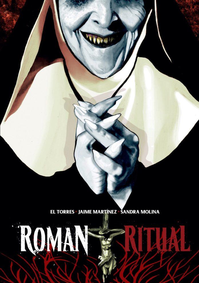 Portada de Roman Ritual, el cómic de culto de El Torres.